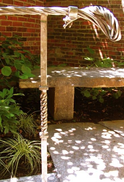 Beacon Hill Garden Design - Peter Andruchow of Woven Steel
