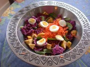 Erica's winter salad