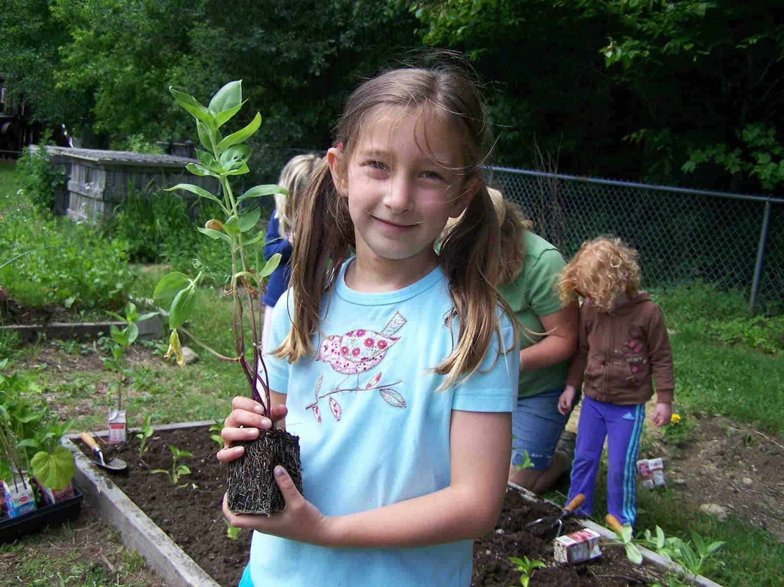 Vegetable Gardening with Children