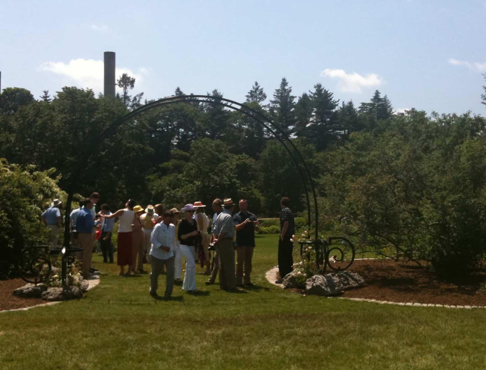 Rose Arbor Dedication at The Arnold Arboretum