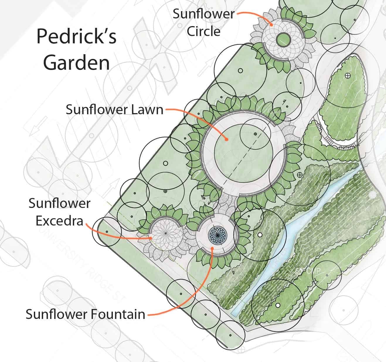 The Enlargement Plan Of Pedricks Garden