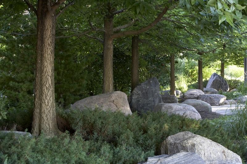 JMMDS, The Toronto Music Garden, photo by Adrian Holmes