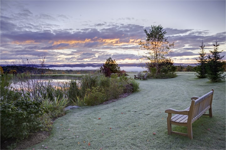 JMMDS Vermont Pond sunrise photo by Bill Sumner