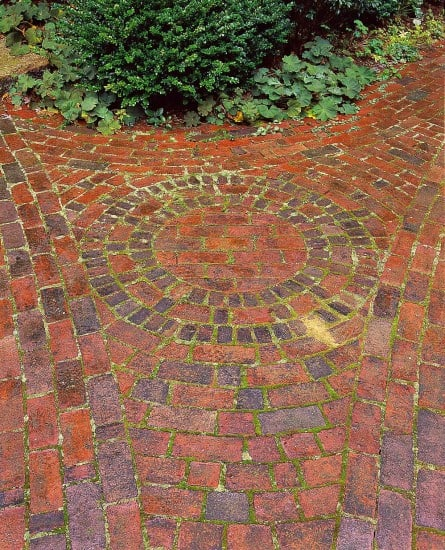 Brick detail | Landscape design by JMMDS, Photograph by Grey Crawford