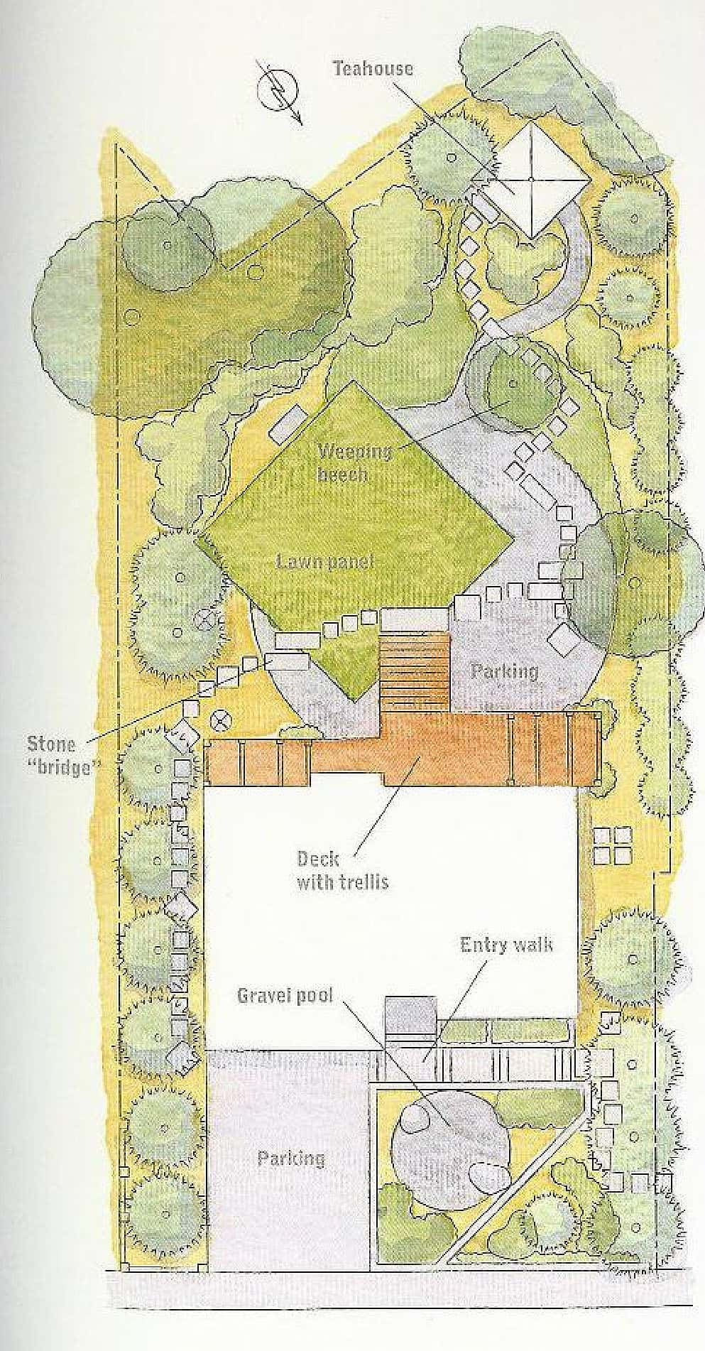 Designing Garden Layout I M Loving The Curves In This: Julie Moir Messervy Design Studio Brookline Japanese