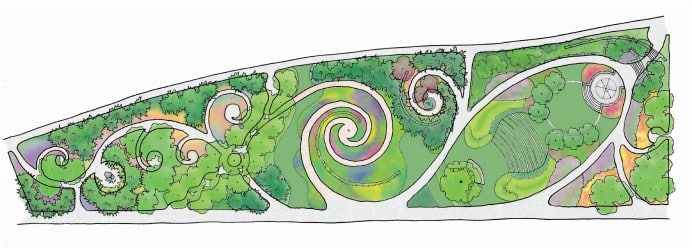 Awesome ... JMMDS The Toronto Music Garden Illustrative Plan