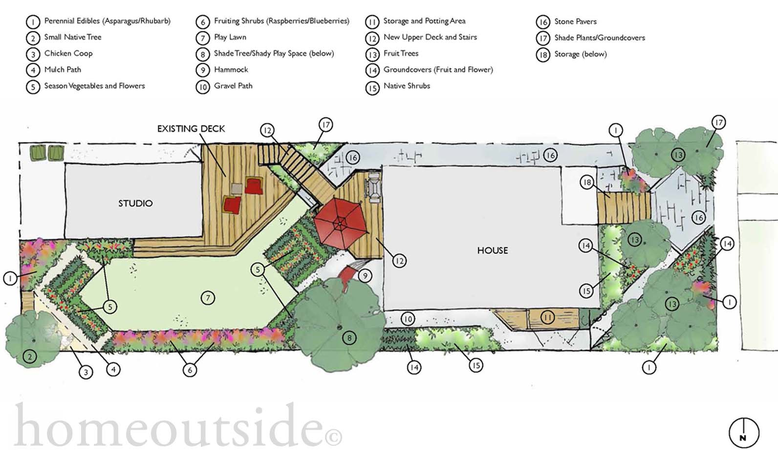 Julie moir messervy design studio home outside online for Garden design map