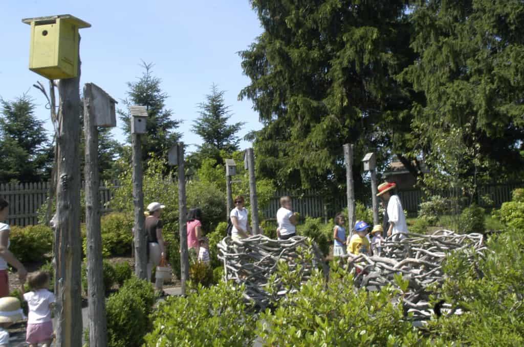 JMMDS Weezies Garden birdhouses and nests