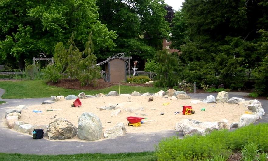 JMMDS Weezies Garden sand island