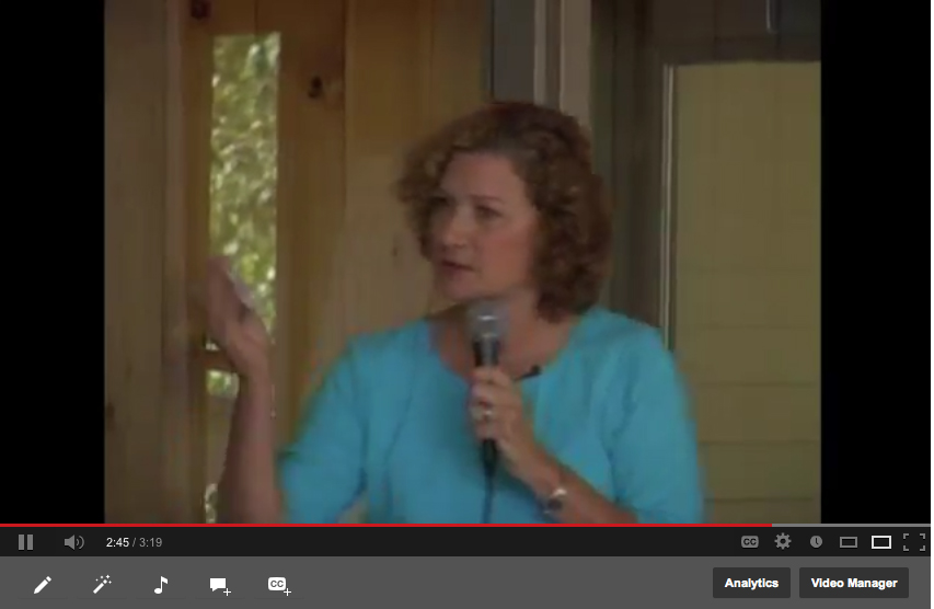 Landscape site evaluation for homeowners: Julie Moir Messervy video