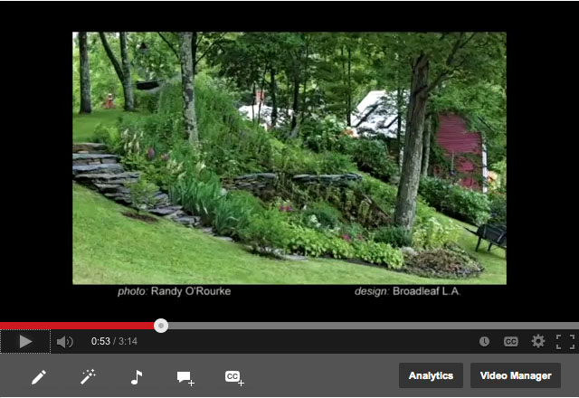 Landscape Design Concepts video: Sloped vs. Level Site, by JMMDS
