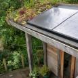 Green roof The Waterhouse Gardens at Stockerton, Dumfries & Galloway, photo by Andrea Jones.