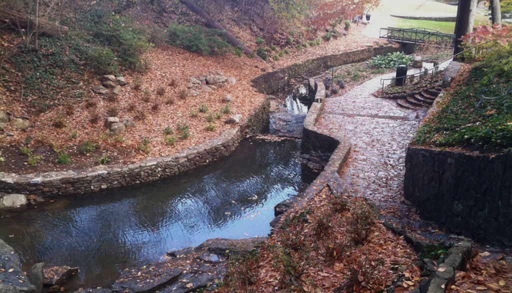 Little Falls Park stream rejuvenation by JMMDS