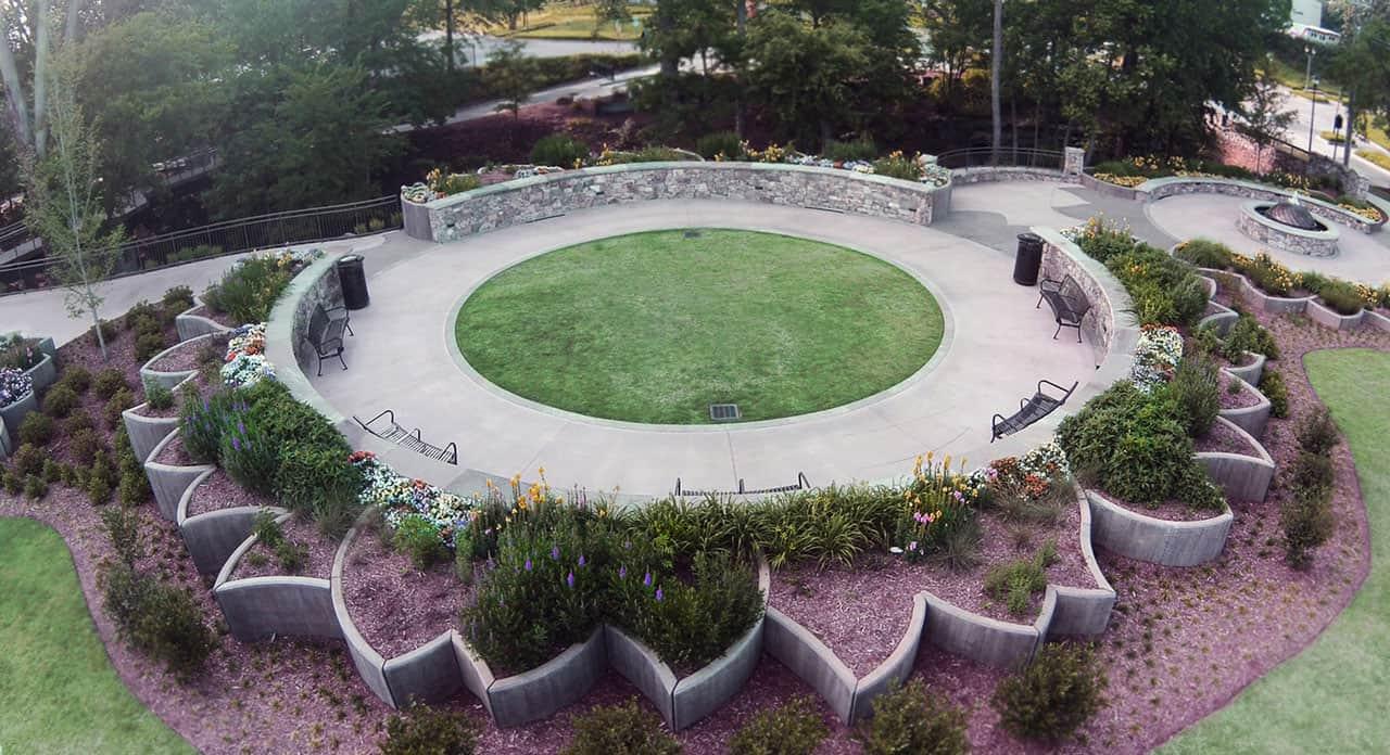 Julie Moir Messervy Design Studio Little Falls Park, Greenville ...