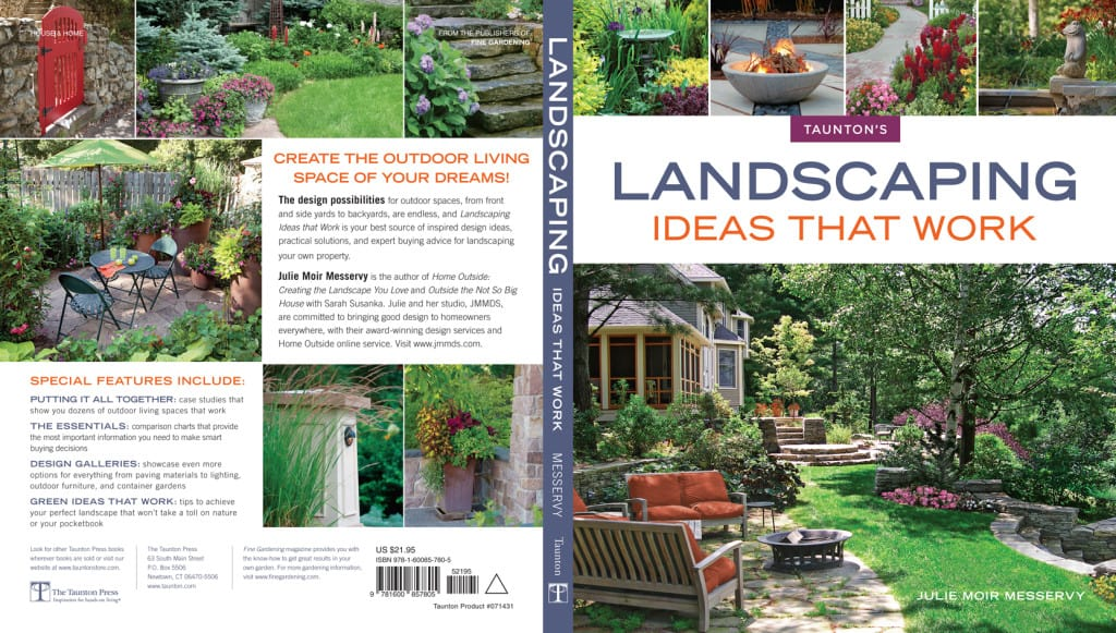 Landscaping Ideas That Work | Book by Julie Moir Messervy - Full Cover