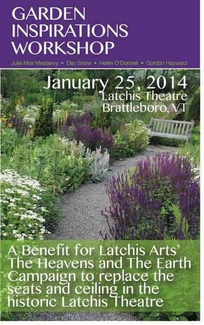 Upcoming Garden Workshop—January 25, 2014