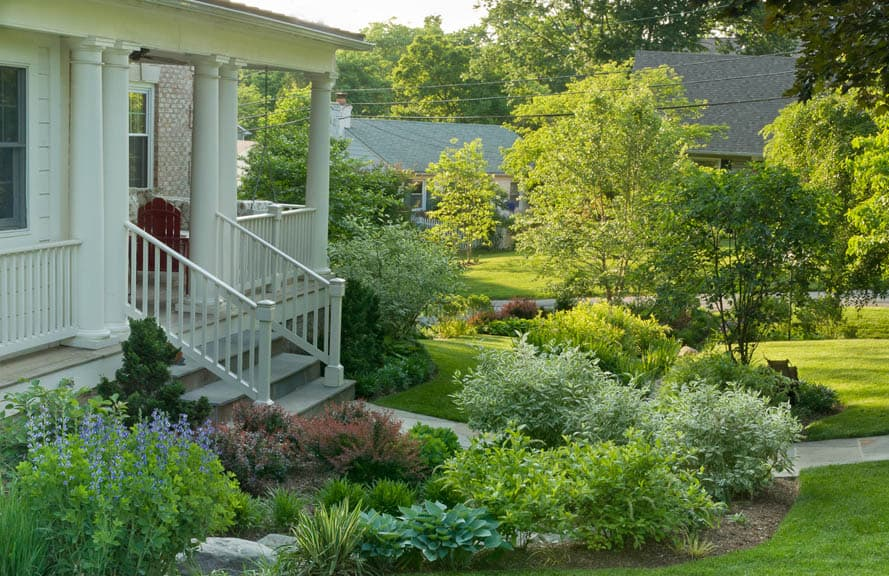 Landscape Designer Melissa Clark Transformed A Perpetually Soggy Front Yard  Into This Lush Rain Garden, One Of The Case Studies In Landscaping Ideas  That ...