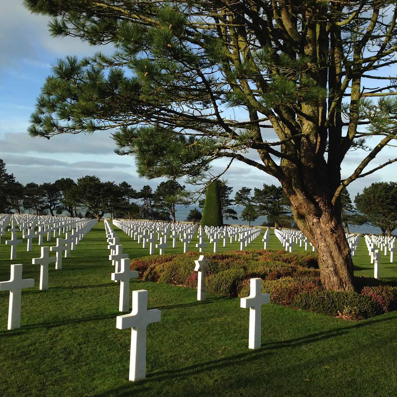 Gravesites at Normandy