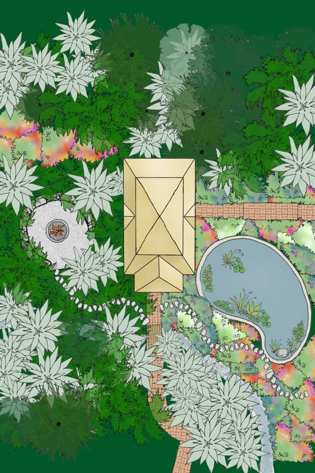 Amazing Landscape Designs From An App User Julie Moir Messervy