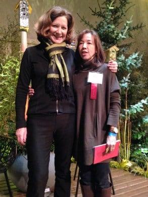 Julie with Lisa Bauer
