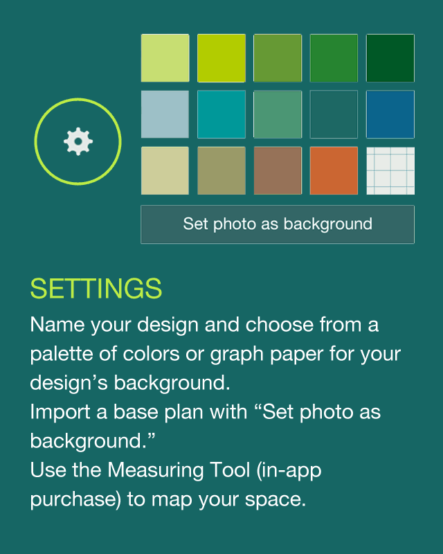 Julie moir messervy design studio app help julie moir for Home outside design app