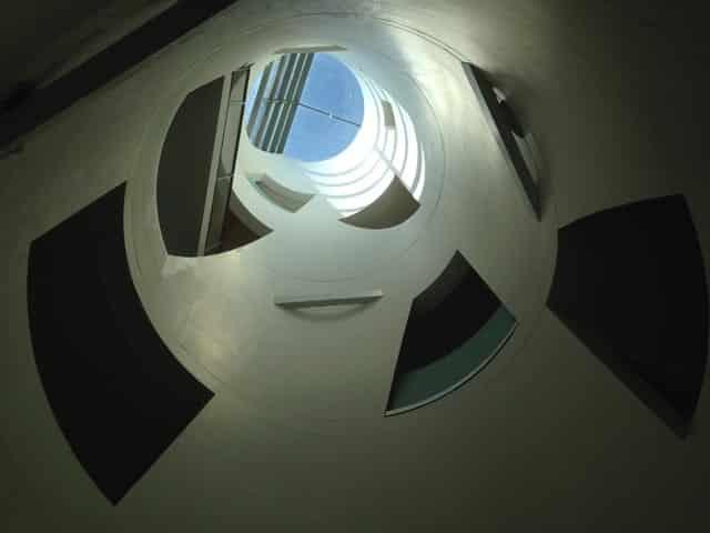 Steven Holl's building at Glasgow School of Art