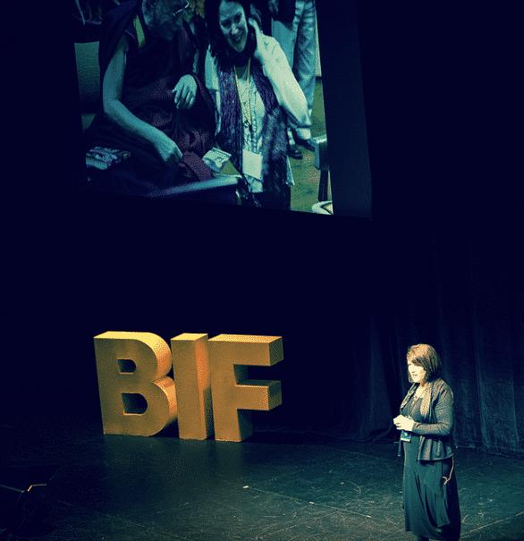 Arlene Samen at the BIF 10 Summit. Photo by Stephanie Alvarez Ewens.