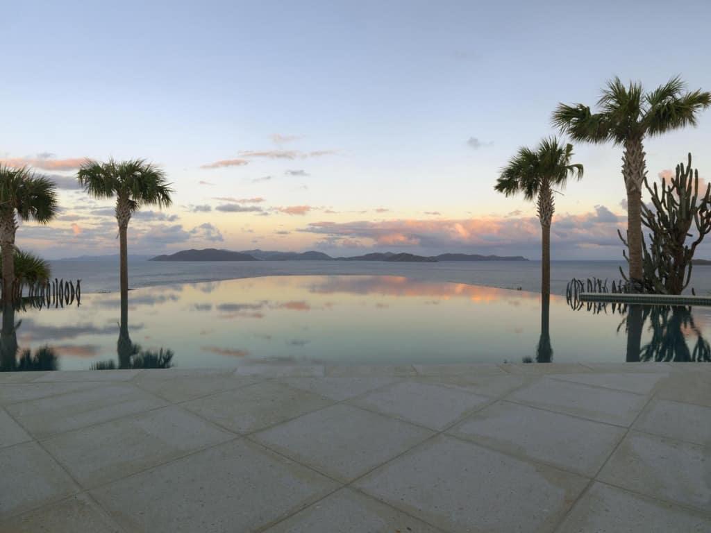 JMMDS BVI landscape, infinity pool, photo by Susan Teare