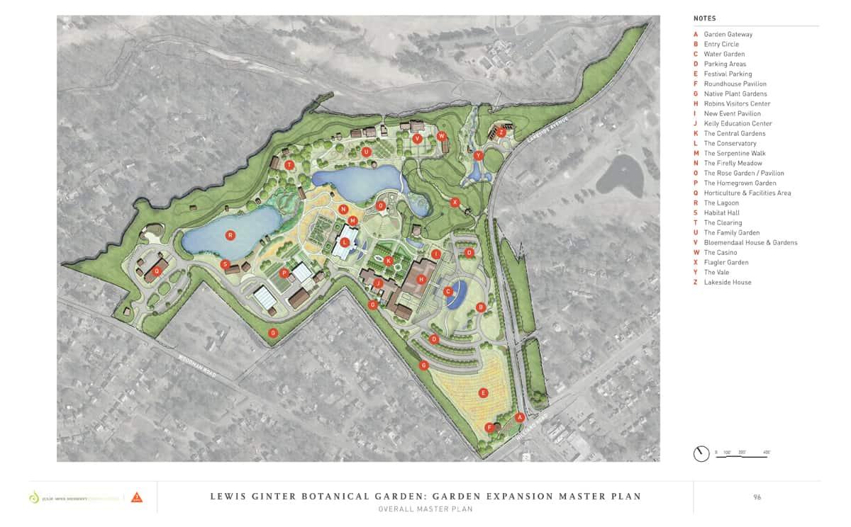 JMMDS Lewis Ginter Botanical Garden master plan