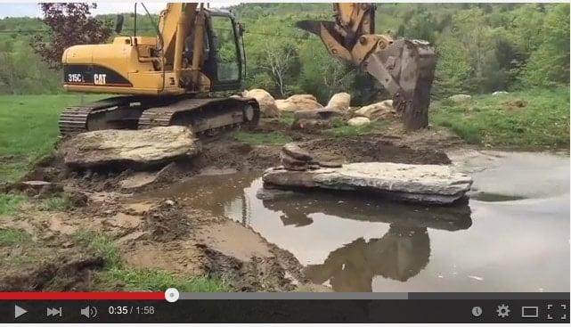 JMMDS Southern Vermont pond renovation