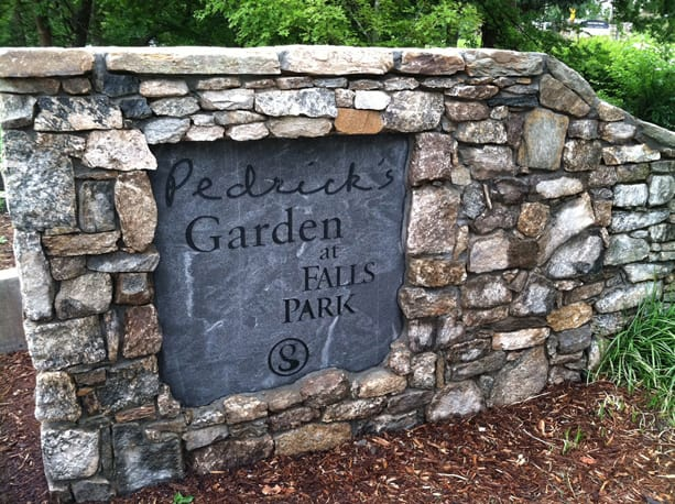 Pedrick's Garden was opened in August 2014.