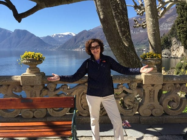 Julie Moir Messervy at Lake Como