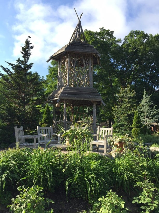 The Viewing Tower at Weezie's Garden