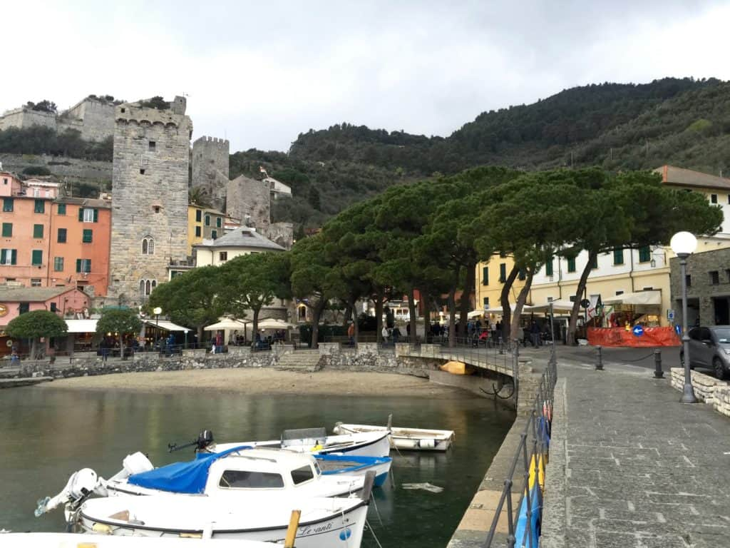 boats at the Porto Venere waterfront