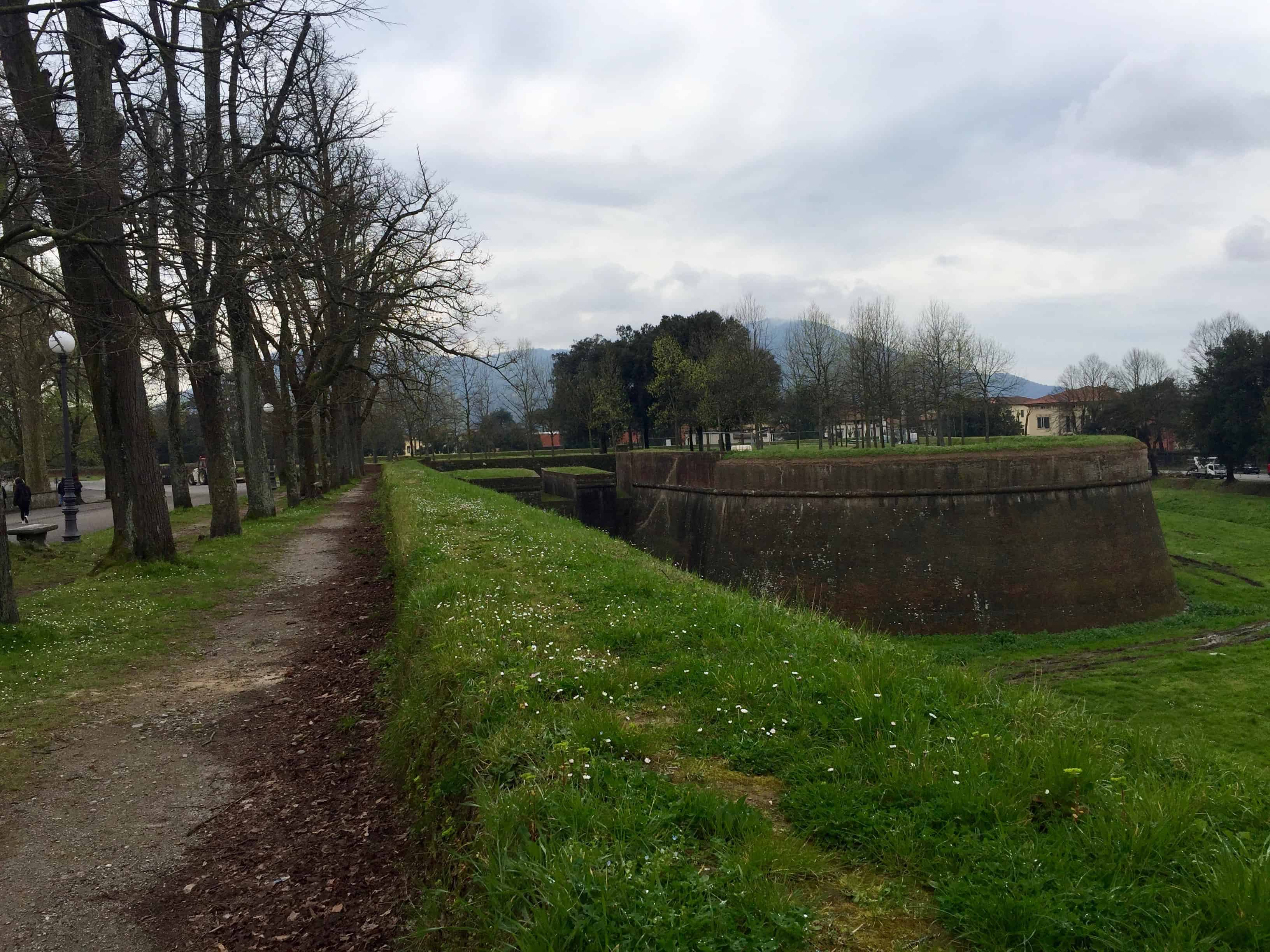 Ramparts surrounding the city of Lucca