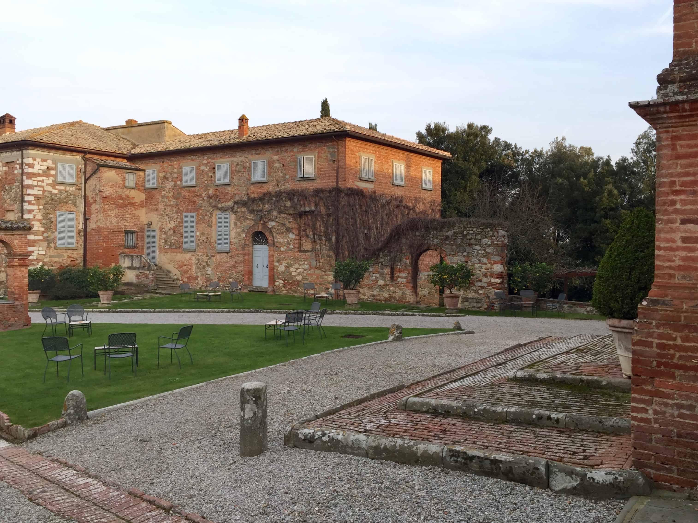 Inside the inn's walls at the Locanda l'Amoroso.